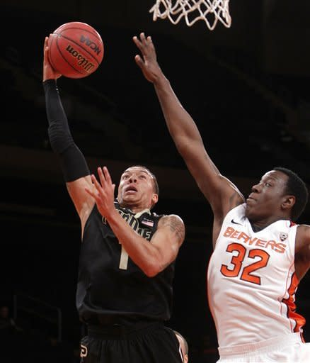 Collier leads Oregon St past Purdue 66-58