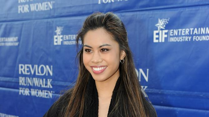Ashley Argota arrives at the 20th Annual EIF Revlon Run/Walk For Women held at Los Angeles Memorial Coliseum at Exposition Park on Saturday, May 11, 2013 in Los Angeles, California. (Photo by Frank Micelotta/Invision for Revlon/AP Images)