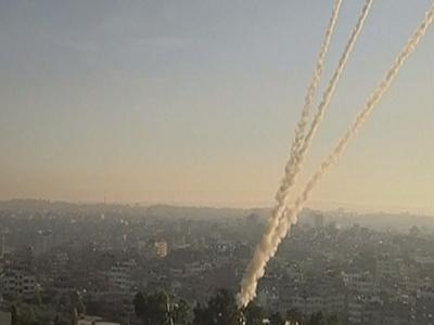 Rockets from Gaza jolt Tel Aviv area