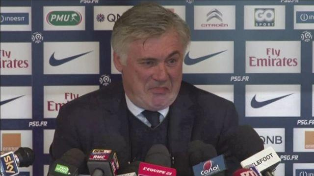 Ancelotti talks about his future and Barton comments [AMBIENT]