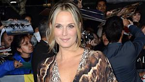 Molly Sims Favors Braids and Primer