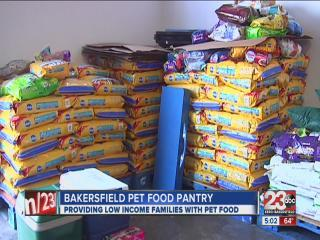 Bakersfield pet food pantry serving animals since 2009