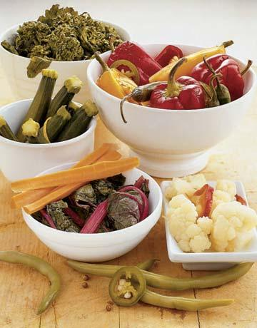 Choose Vegetables for Pickling