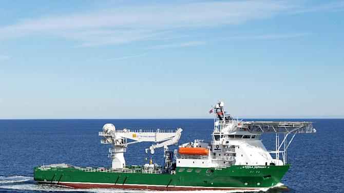 Havila Harmony, one of three ships scouring the southern Indian Ocean for the remains of missing Malaysia Airlines flight MH370