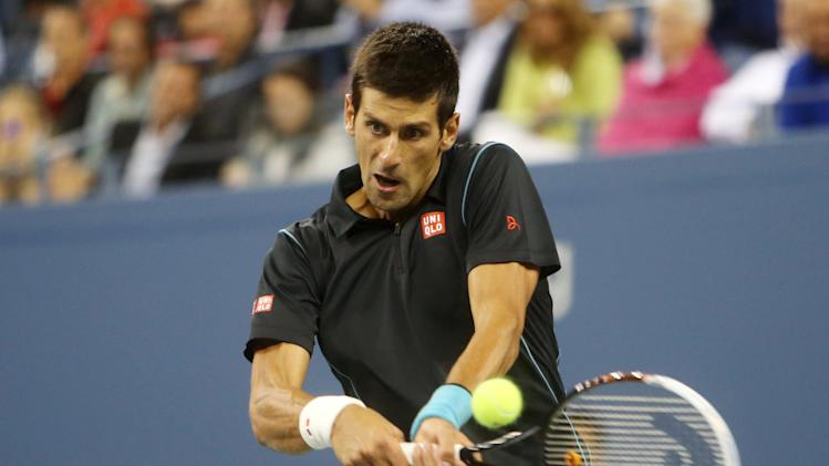 Tennis: U.S. Open-Djokovic vs Youzhny