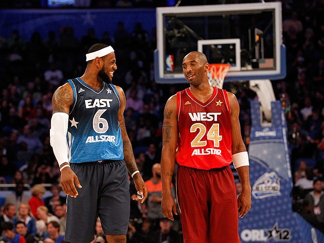 LeBron Kobe All Star