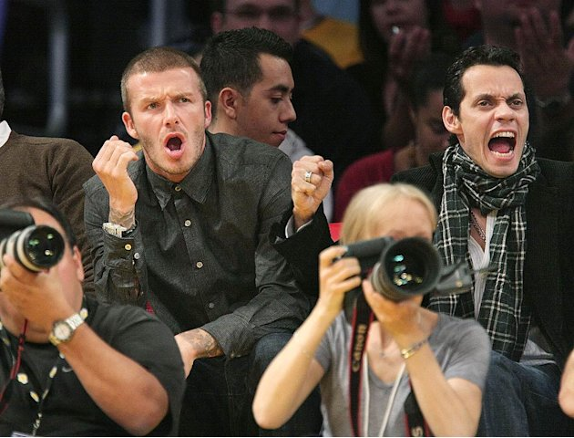Beckham Anthony Lakers Game jpg Acirc Acirc