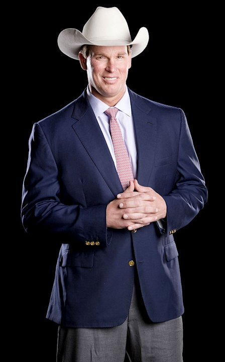 WWE Smackdown Superstar JBL from the CW's Friday Night Smackdown!