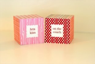 Valentine Love Dice to play