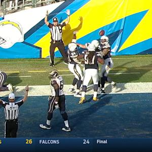 San Diego Chargers score twice in 12 seconds