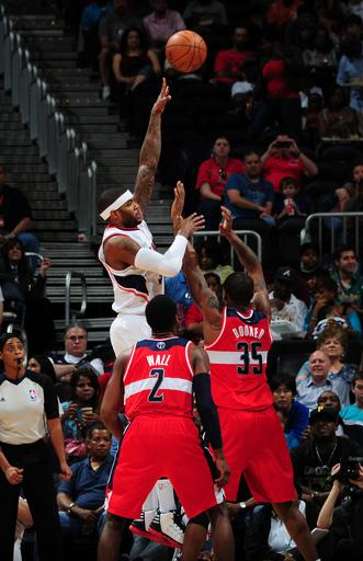 Johnson scores 34 as Hawks top Wizards 102-88