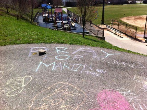 Remembering 8-Year-Old Martin Richard, in Chalk, Peace, and Tears