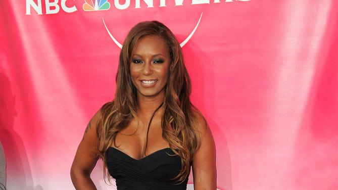 """Dance Your A** Off's"" Mel B arrives at NBC Universal's 2010 TCA Summer Party on July 30, 2010 in Beverly Hills, California."