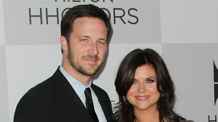 Tiffani Thiessen (husband is Brady Smith)