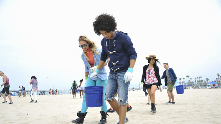 """Teen Beach Movie"" - Mollee Gray, Jordan Fisher, Chrissie Fit, John Deluca"