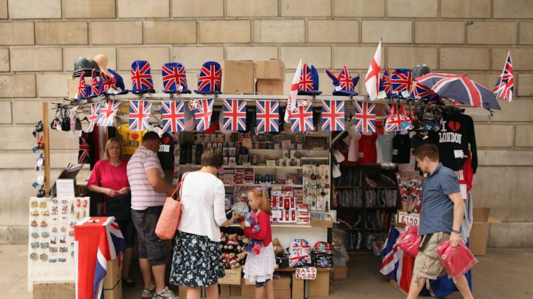 London Prepares For The Diamond Jubilee