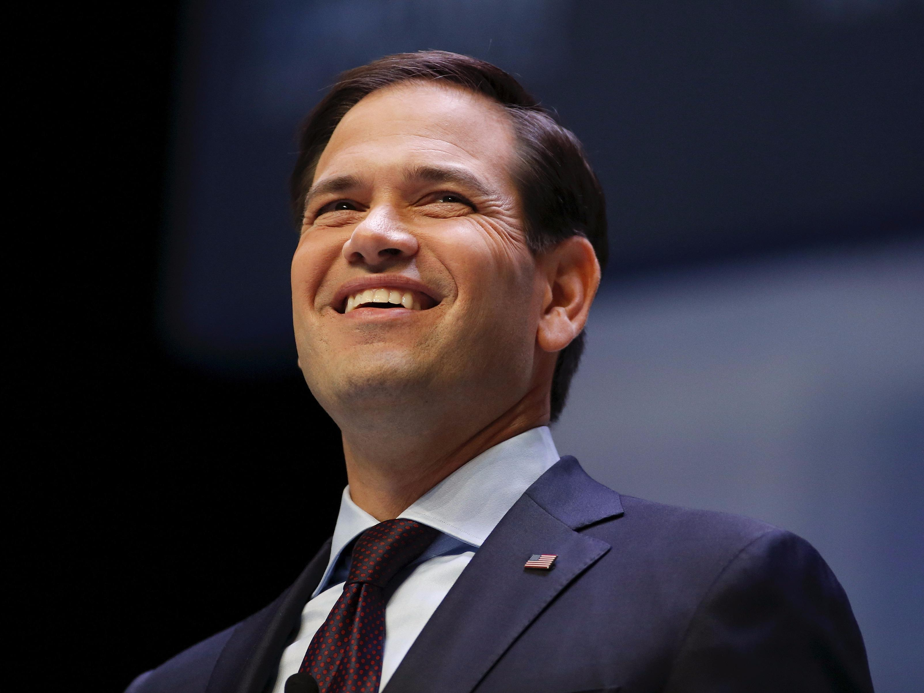 Marco Rubio says one startup would've vastly improved life for his mom