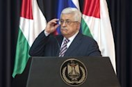 Palestinian president Mahmud Abbas answers question during a press conference in the West bank town of Bethlehem in June 2012. Palestinian negotiator Saeb Erakat has told AFP that Abbas will meet US Secretary of State Hillary Clinton during a trip to Paris on July 6