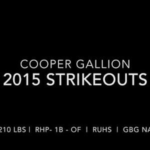Cooper Gallion RUHS Pitching Highlights