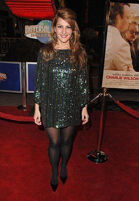 Nia Vardalos at the Los Angeles premiere of Universal Pictures' Charlie Wilson's War