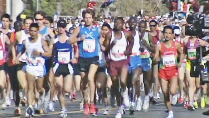 Preparing to run the Los Angeles Marathon