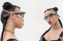 FKA twigs made using Google Glass look like stepping into the Matrix