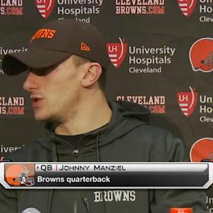 Cleveland Browns postgame press conference