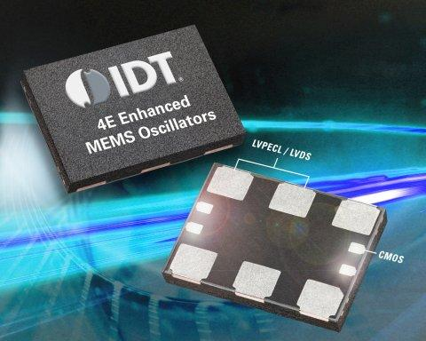IDT Announces Industry's First High-performance Quad Frequency MEMS Oscillators with Multiple Synchronous Outputs