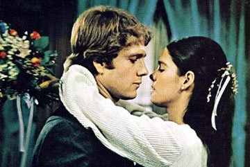 Ryan O'Neal and Ali MacGraw in Paramount Pictures' Love Story