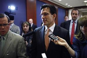 Cantor arrives for a briefing to all members of Congress by senior Obama administration officials on proposed military action against Syria, at the U.S. Capitol in Washington