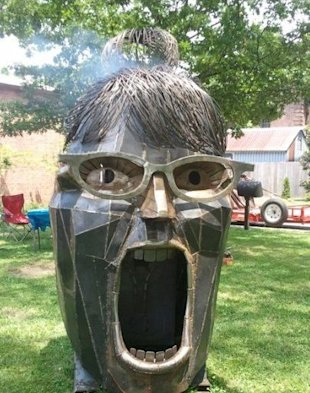 Sarah Palin sculpture
