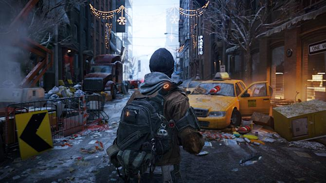 """This video game image released by Ubisoft shows a scene from """"Tom Clancy's The Division."""" (AP Photo/Ubisoft)"""