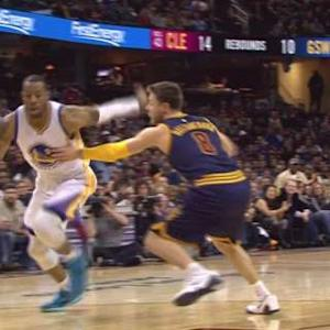 Iguodala Dances, Lee Finishes