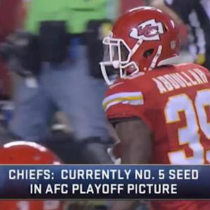 How can the Kansas City Chiefs win the AFC West division?