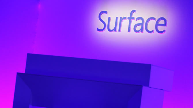 Microsoft unveils new Surface at NYC event