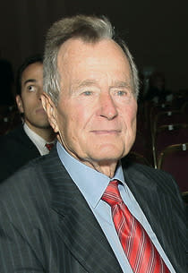 Former President George H.W. Bush | Photo Credits: Bob Levey/WireImage