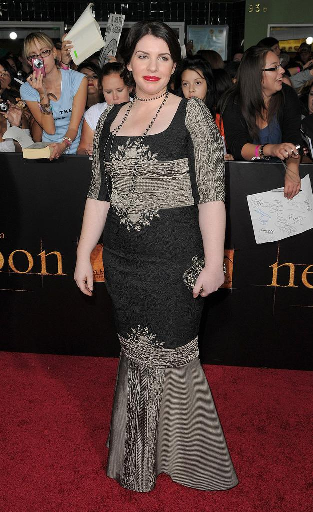 Twilight Saga New Moon LA Premiere 2009 Stephanie Meyer