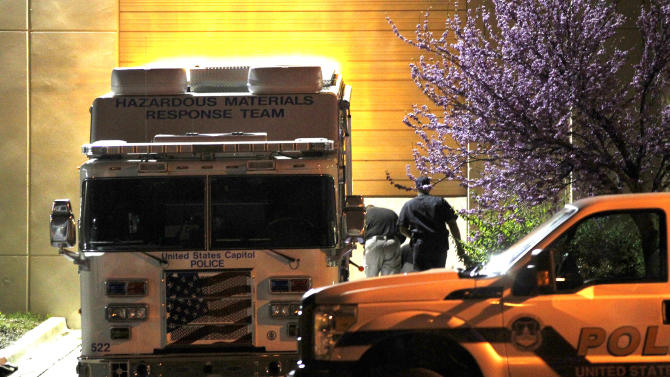 Police said to have suspect in mind in ricin case
