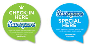 Using Foursquare to Corner Your Market image foursquarecheck in