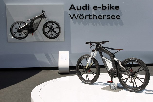 Audi e-bike bicycle