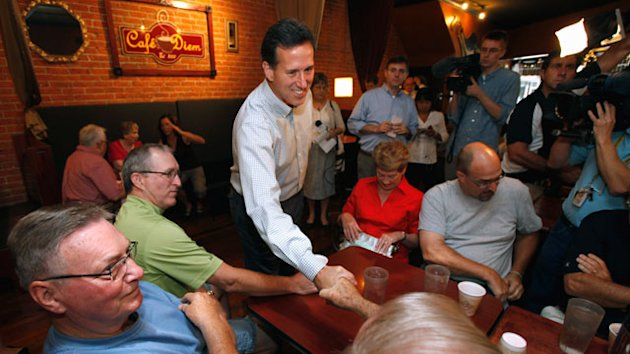 Rick Santorum's Way to Win? Run a Campaign on a Shoestring Budget (ABC News)
