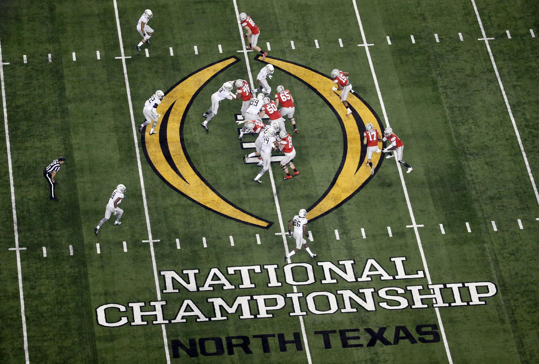 College Football Playoff title game bids for 2018-20 official