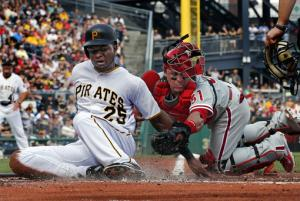 Cole wins 10th as Pirates top Phillies 4-3