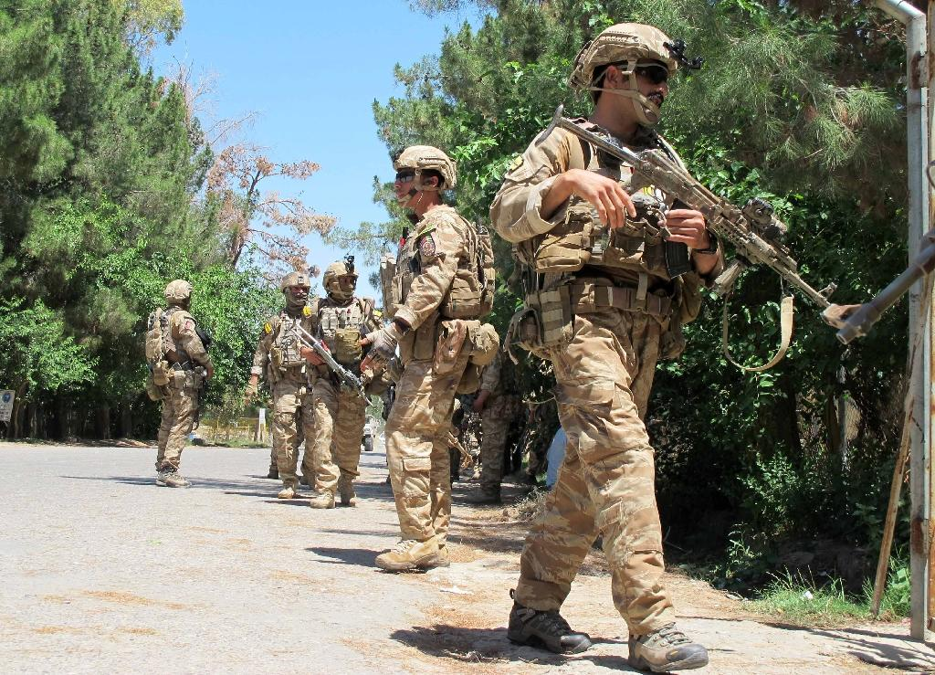 Two American soldiers killed in Afghan 'insider attack'