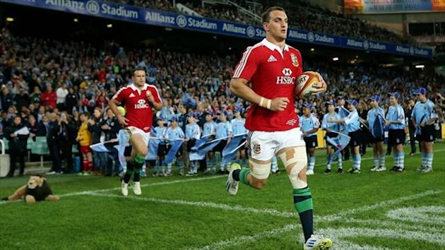 Sam Warburton will lead the British and Irish Lions out on Saturday
