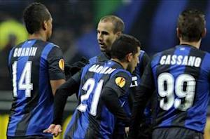 Inter 2-0 Cluj: Slick double from Palacio puts Nerazzurri in driving seat