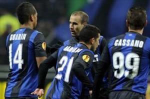 Inter 2-0 Cluj: Slick double from Palacio puts Nerazzurri in driving seat