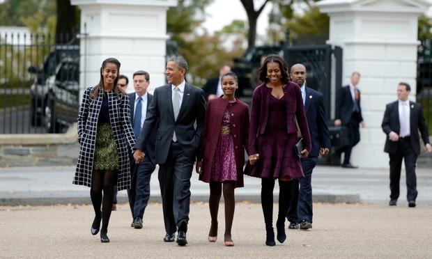 Barack and Michelle Obama on Malia and Sasha being on their own: 'They're ready to get out'
