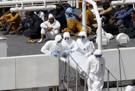 Hundreds drown off Libya, EU leaders forced to reconsider migrant crisis
