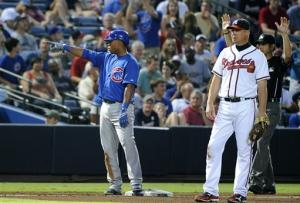 Samardzija strikes out 11, Cubs beat Braves, 4-1